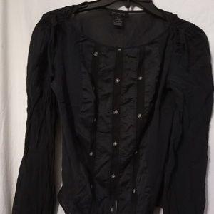 Womens small silk shirt